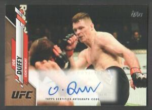 2020 Topps UFC MMA Athlete Autograph Trading Card #UFCA-JD Joe Duffy 02/25 AUTO