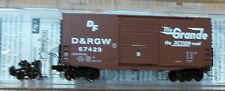 Micro-Trains Line #10100030 40' Hy-Cube Box Car -- Denver & Rio Grande Western #