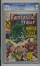 Fantastic Four #97 CGC 9.6 NM+ Unrestored Marvel OW/W Pgs Mound City Collection