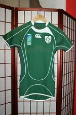 Ireland 2007 World cup rugby union jersey shirt player issue size S . ALY