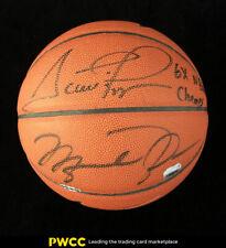 Michael Jordan & Scottie Pippen Signed Autographed Basketball AUTO, UDA (PWCC)