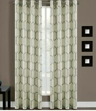 Portinari 63-Inch Grommet Top Window Curtain Panel in Spa