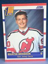 1990-91 SCORE #439 MARTIN BRODEUR ROOKIE CARD