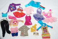 Barbie Doll Clothes Lot for 11 inch Fashion Dolls Vtg Tops Dress Pants Accessory