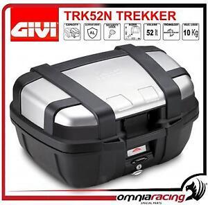 GIVI TRK52N Trekker 52Lt. Monokey Aluminium Top Case/dur sac