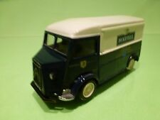 MATCHBOX YTF2  CITROEN H VAN - MARTELL COGNAC -  BLUE 1:43?- GOOD CONDITION
