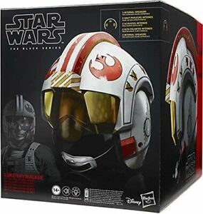 Luke Skywalker X-Wing Electronic Helmet Red 5 Star Wars Black Series TBS ...MIB