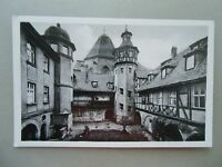 Ansichtskarte Ansbach Alter Hof am Joh.-Seb.-Bach-Platz 1963