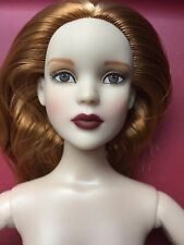 """Tonner TYLER 16"""" NUDE JUST RIGHT CAMI FASHION DOLL No Box No Stand 2012 LE 500"""