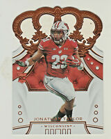 2020 Panini Chronicles CROWN ROYALE #37 JONATHAN TAYLOR RC Rookie Badgers Colts