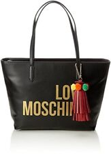 Borsa Donna Love Moschino Grain Shopping Bag Nero Jc4310 118