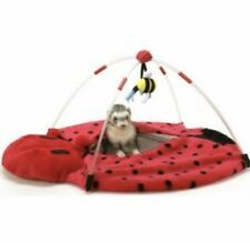 C1 NWT Marshall Bed Lady Bug Play Center Toy Ferret