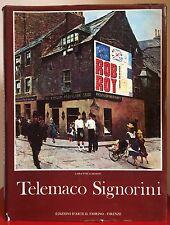 Lara-Vinca Masini TELEMACO SIGNORINI Il Fiorino 1983 Macchiaioli