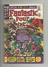 Fantastic Four Annual #3 1st Silver Age PATSY WALKER HELLCAT 5.0 VG/FN, Marvel