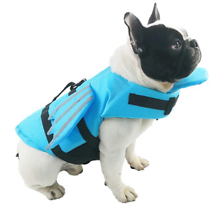 Dog/Cat Life Vest with Chin Float, with Angel Wings Design XS