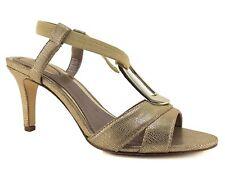 Alfani Women's Destyne Dress Sandals Gold Size 8.5 M