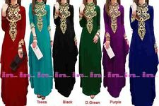 Maxi Dress, Abaya, Kaftan, Jalbab Black Colour