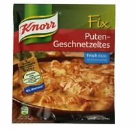 4 x Bag Knorr Fix Puten-Geschnetzeltes - New & Fresh from Germany !