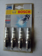 """Spark Plugs BOSCH Super Plus. PLUS YTTRIUM """"FR7KCX+"""" 4 pkt free post"""