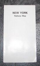 USA - New York Railway Map - 1993