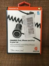 New Griffin In Car Charger iPOD, iPHONE and iPad 10 watts