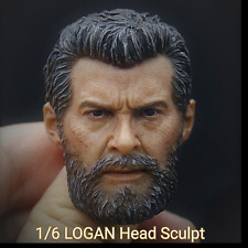 1/6 LOGAN Head sculpt Wolverine Muscle Body Clothing X Man Metal Claws eleven CY