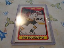 OPC 1990-1991 / 196   RAY BOURQUE BOSTON BRUINS  AS