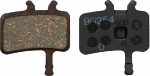 NEW Avid Disc Brake Pads - Organic Compound Steel Backed Quiet For Juicy BB7