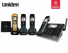 UNIDEN XDECT 8355+3WPR DIGITAL CORDLESS PHONE BLUETOOTH POWER FAILURE BACKUP