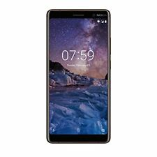 Nokia 7 Plus Sim-free 6 inch Android Unlocked 64 GB Smartphone - Black