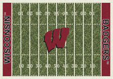 "5x8 Milliken Wisconsin Badgers 1490 NCAA Home Field Area Rug - Approx 5'4""x7'8"""