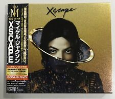Michael Jackson CD DVD Digipack XSCAPE Made In Japan No Promo Limited Rare
