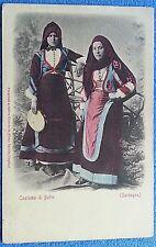 COSTUME NUORO BELVI' viagg. 1915 - 4/18