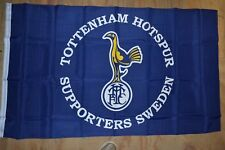 Tottenham Hotspur RARE Official Team FLAG from Sweden  //SHIPS SAME DAY/>