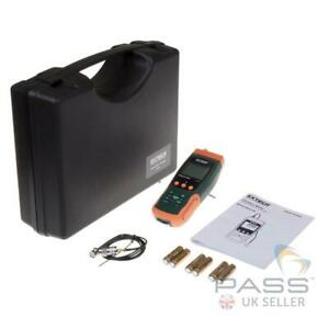 NEW Extech SDL800 Vibration Meter/Datalogger with Remote Sensor - Genuine UK