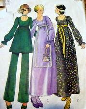Lovely Vtg 1970s Dress & Pants Sewing Pattern 14/36