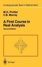 A First Course in Real Analysis Undergraduate Texts in Mathematics