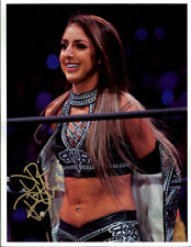 Autographed Dr. Britt Baker Promo Picture 1 Shimmer ROH AEW Wrestling