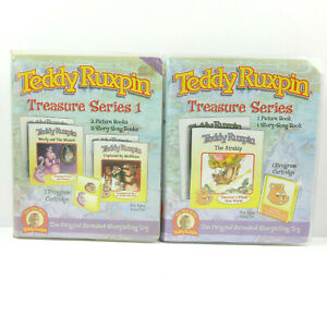 Treasure Series 1 + The Airship   Teddy Ruxpin Picture & Story Song Books   2006