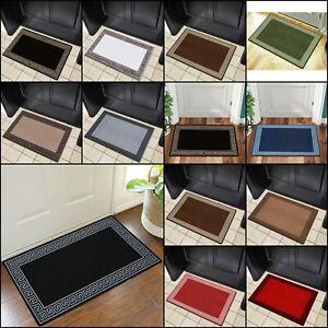 Easy Washable Rug Small Large Living Room Bedroom Lounge Kitchen Floor Door Mat