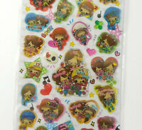 Mind Wave Ghost Party Halloween Extra Puffy Stickers Sheet Kawaii Bats Squishy