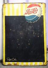 großes altes Blechschild Pepsi Cola
