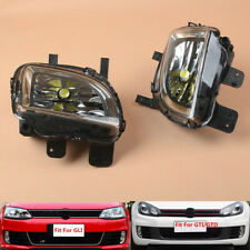 Fit For VW Jetta GLI 2012-14 Golf GTI MK6 VI 09-13 L+R Front Lower LED Fog Lamp