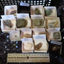 More details for worldwide collection of minerals