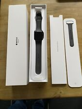 Apple Watch Series 3 42mm Space Grey Gps Sports Band All Accessories Excellent