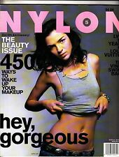 Nylon Magazine April 2004 5th Anniversary The Beauty Issue Louis Vuitton Vines