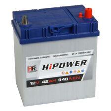 HR HiPower Autobatterie 12V 42Ah 340A/EN ersetzt 35 40 41 43 44Ah