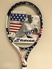 "Babolat Pure Aero VS Stars and Stripes Tennis Racquet Grip Size 4 3/8"""