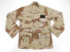 US Military Desert Storm 6 Color Chocolate Chip Camo Combat Coat XS XSmall Short