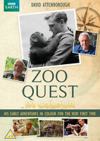 Zoo Quest in Colour DVD (2016) Anuschka Schofield cert PG ***NEW*** Great Value